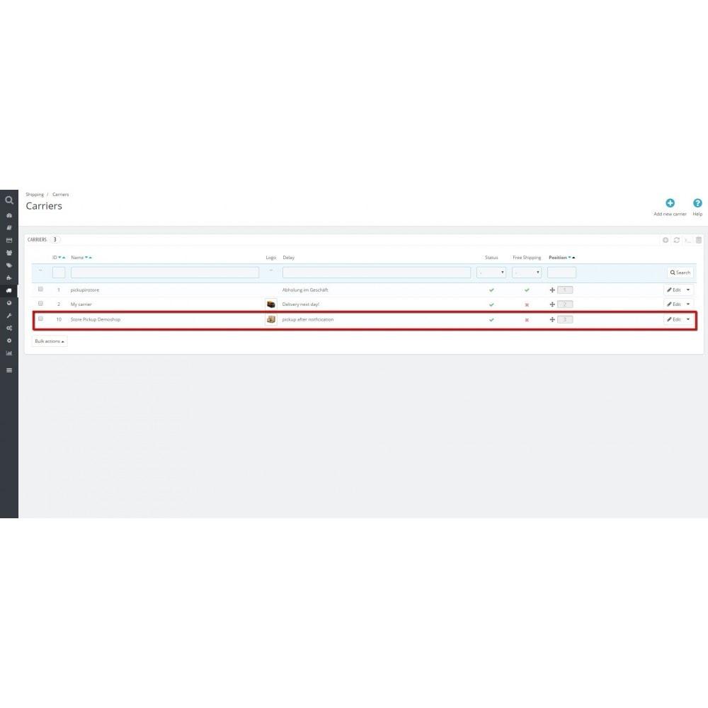 module - Оплата при доставке - Pick up in store - 3