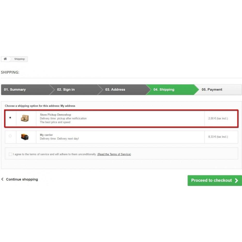module - Оплата при доставке - Pick up in store - 4