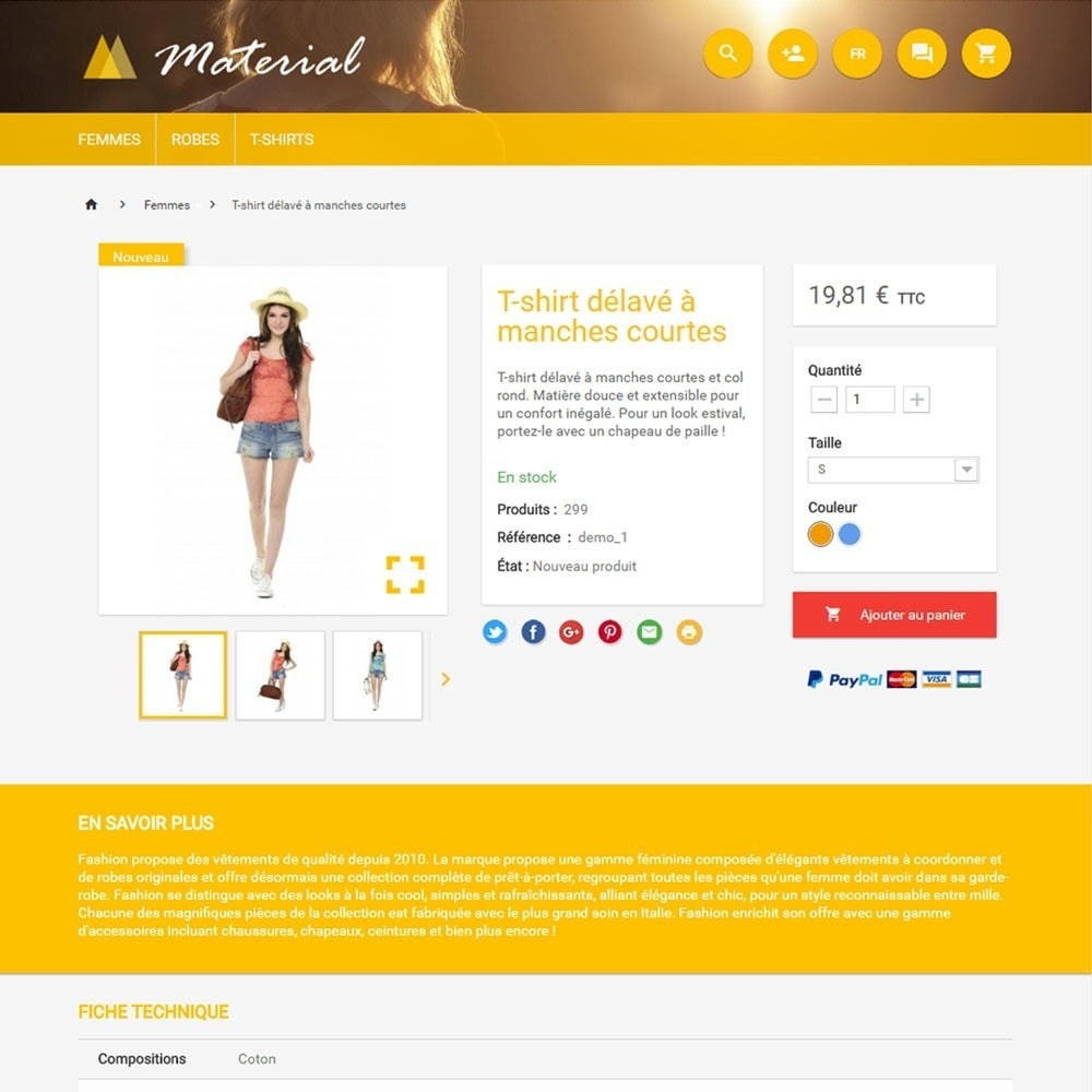 theme - Mode & Chaussures - Material - 4