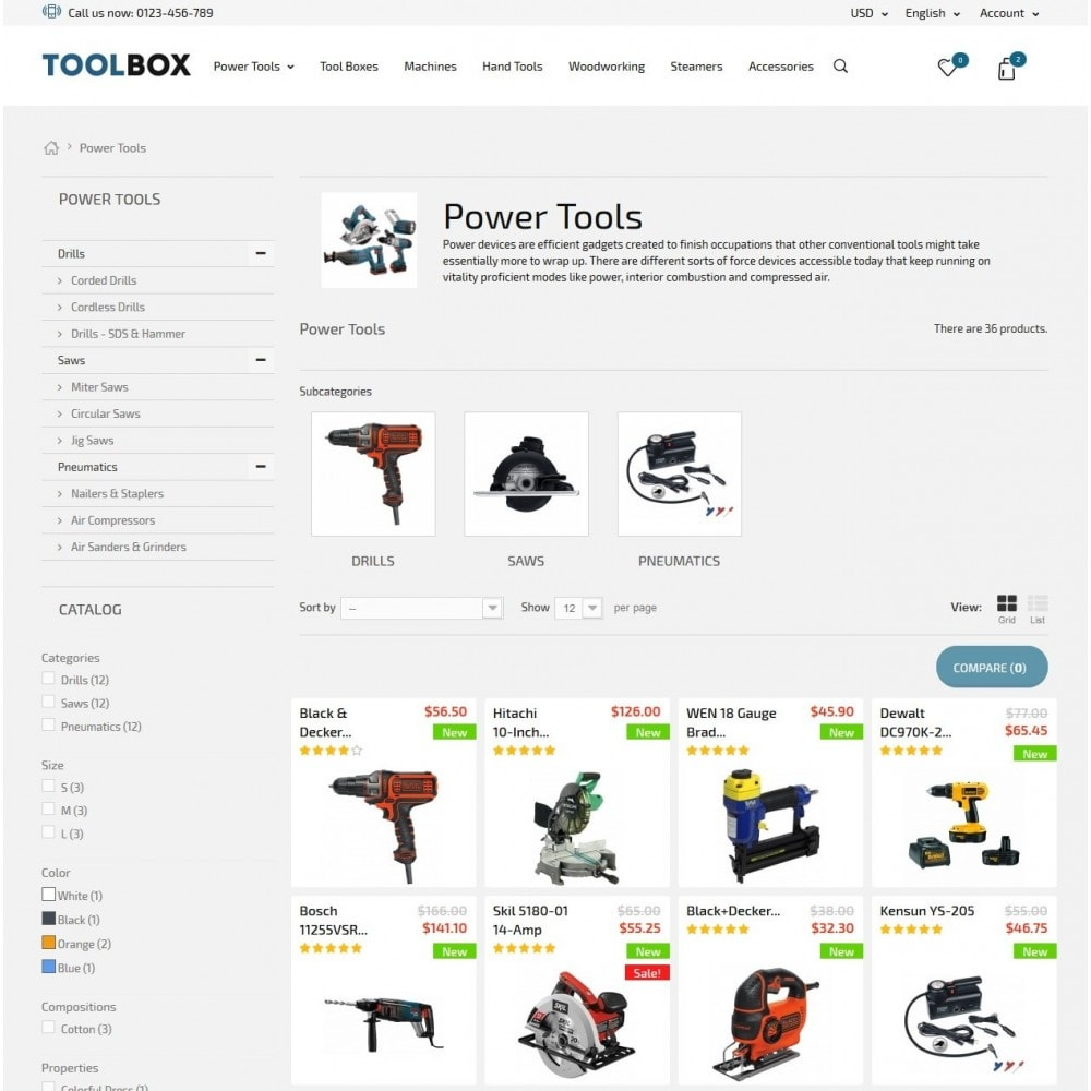 theme - Home & Garden - Tool Box - 5