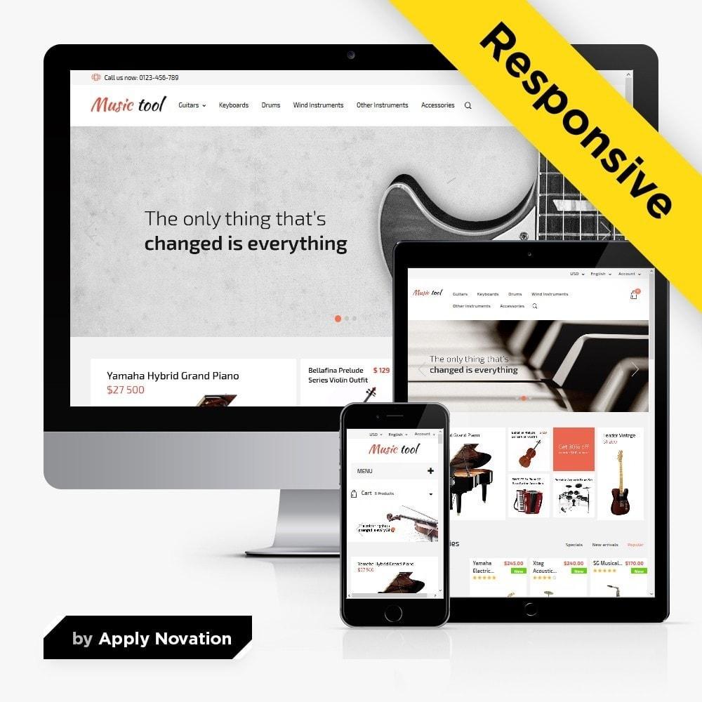 theme - Arte e Cultura - Music Tool - 1