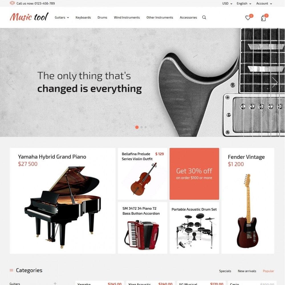 theme - Arte e Cultura - Music Tool - 2