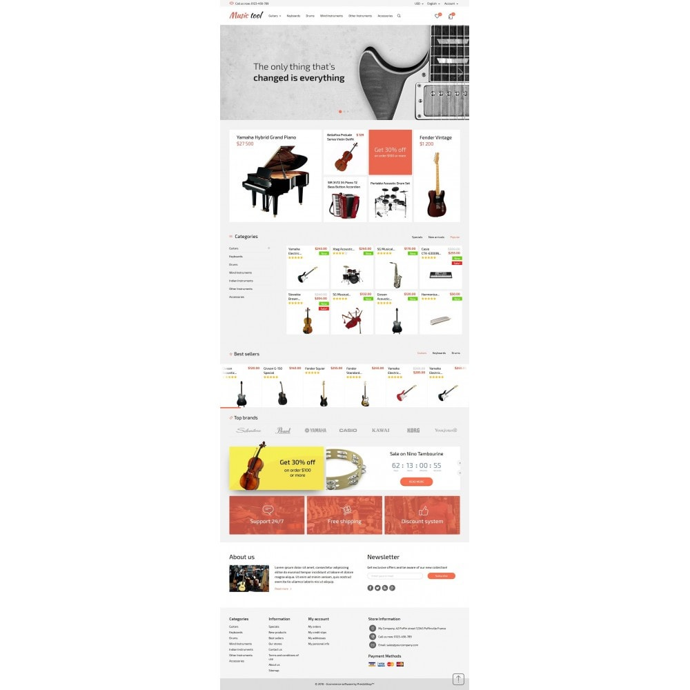 theme - Kultura & Sztuka - Music Tool - 4