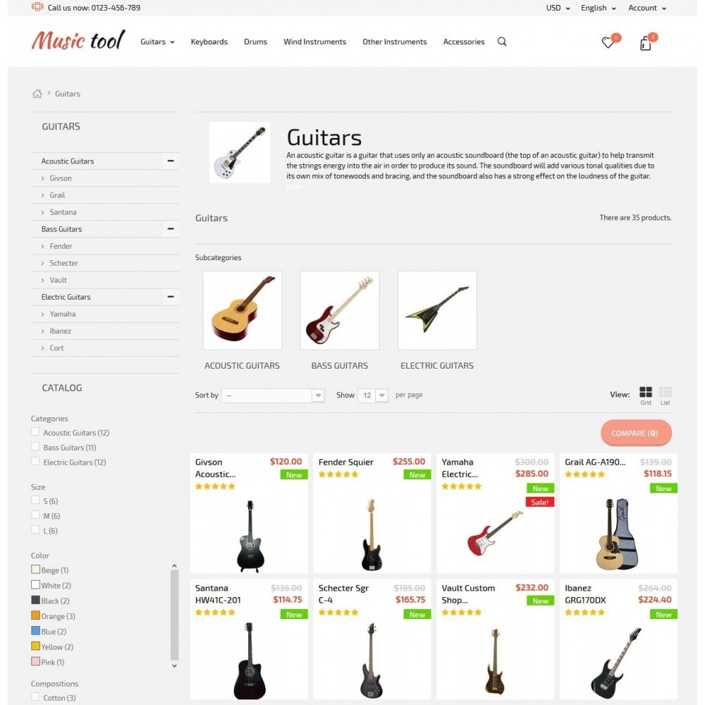 theme - Arte e Cultura - Music Tool - 6