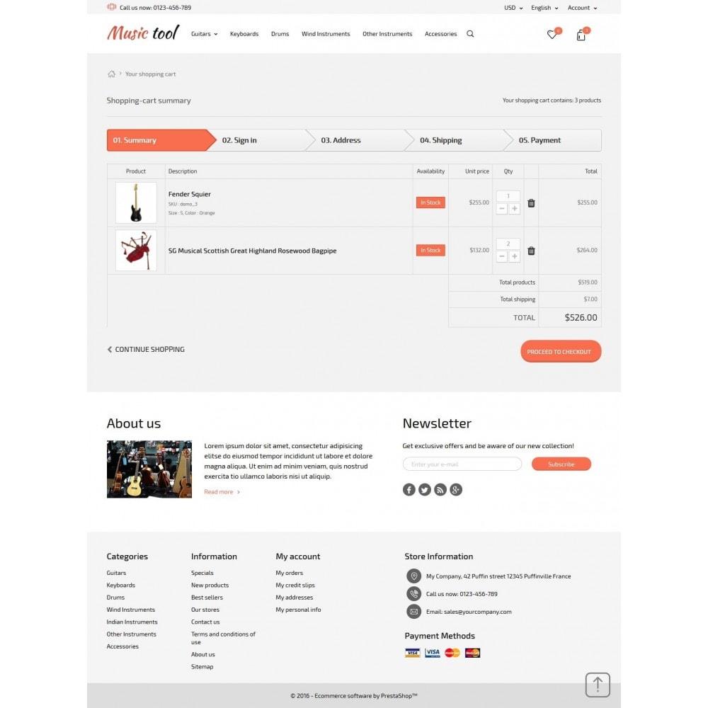 theme - Arte e Cultura - Music Tool - 9