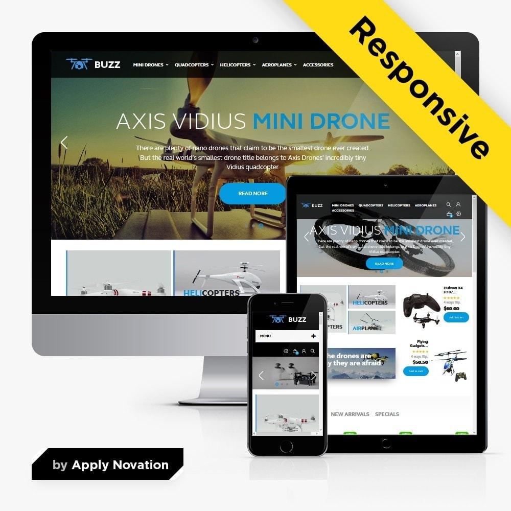 theme - Спорт и Путешествия - Buzz Quadrocopters Store - 1