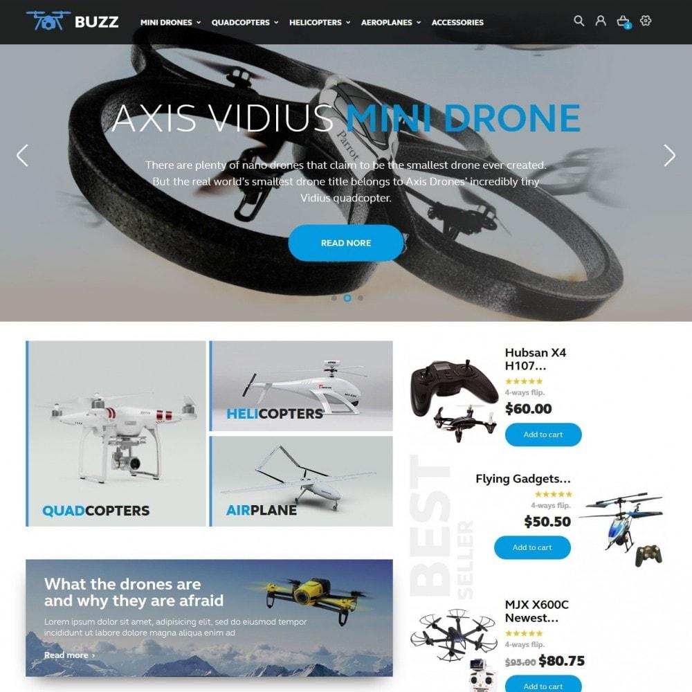 theme - Спорт и Путешествия - Buzz Quadrocopters Store - 2