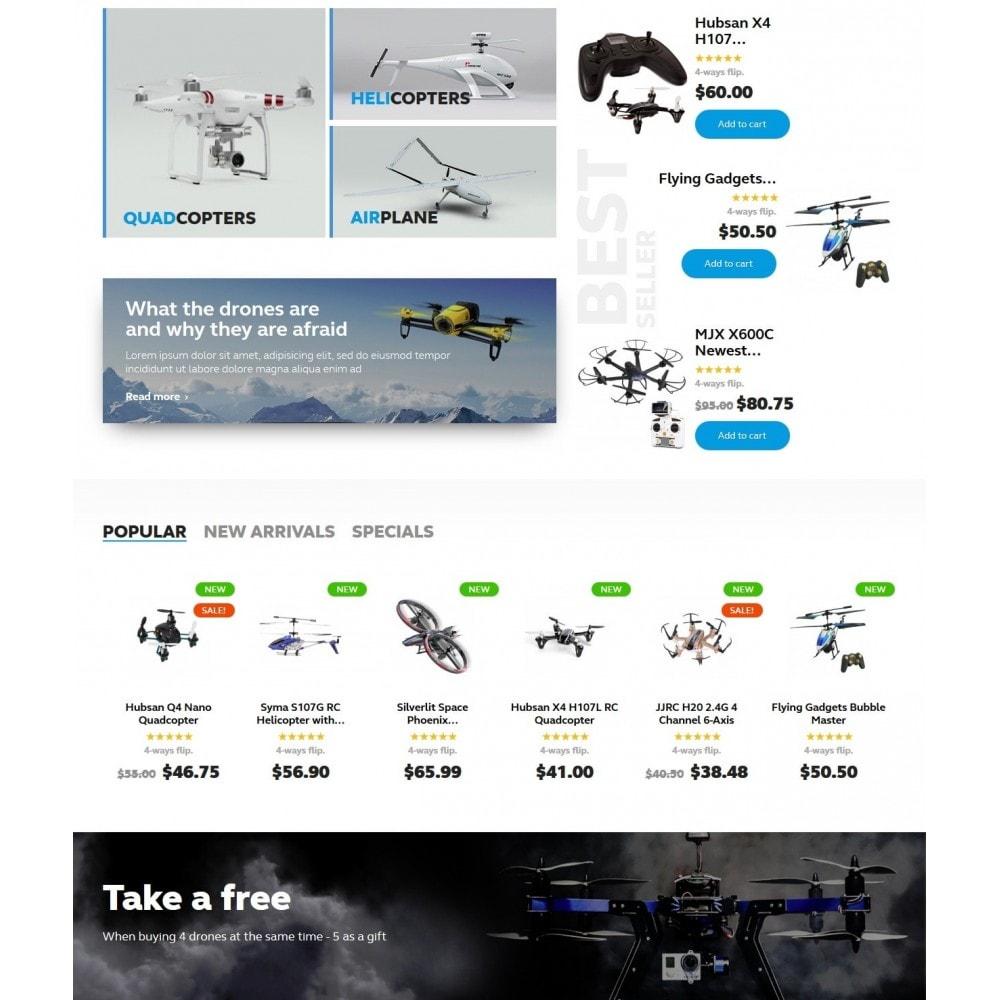 theme - Sport, Activiteiten & Reizen - Buzz Quadrocopters Store - 3
