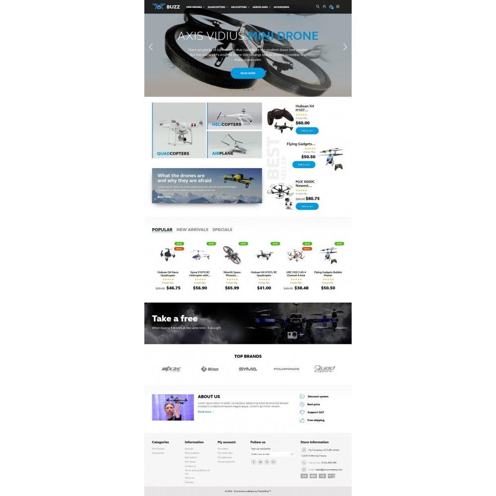 theme - Спорт и Путешествия - Buzz Quadrocopters Store - 4