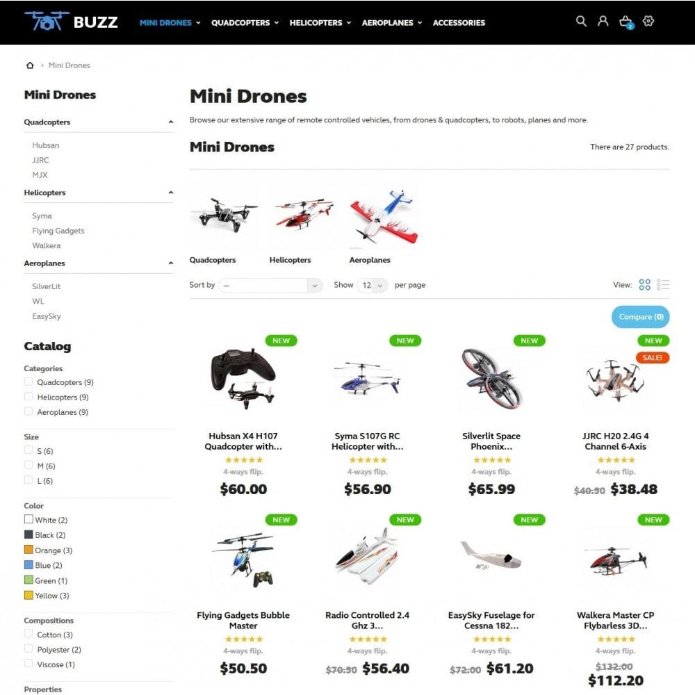 theme - Sport, Activiteiten & Reizen - Buzz Quadrocopters Store - 5
