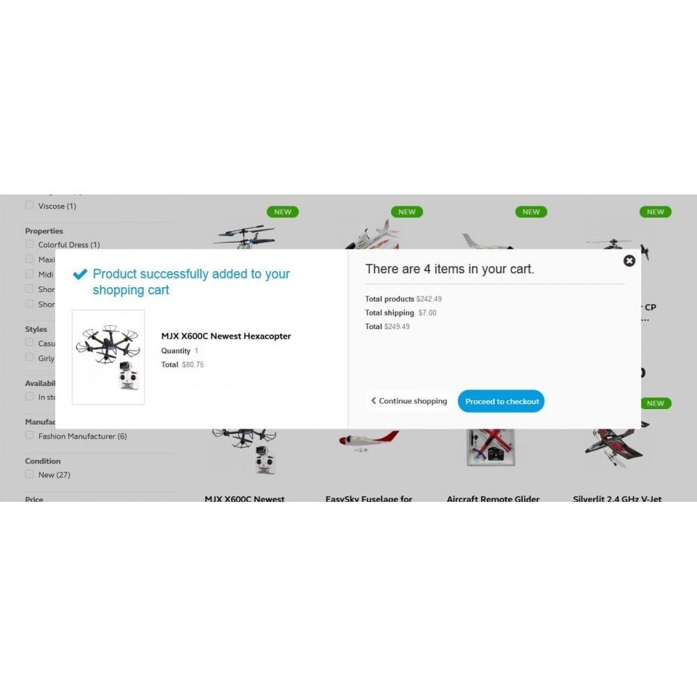 theme - Sport, Activiteiten & Reizen - Buzz Quadrocopters Store - 6