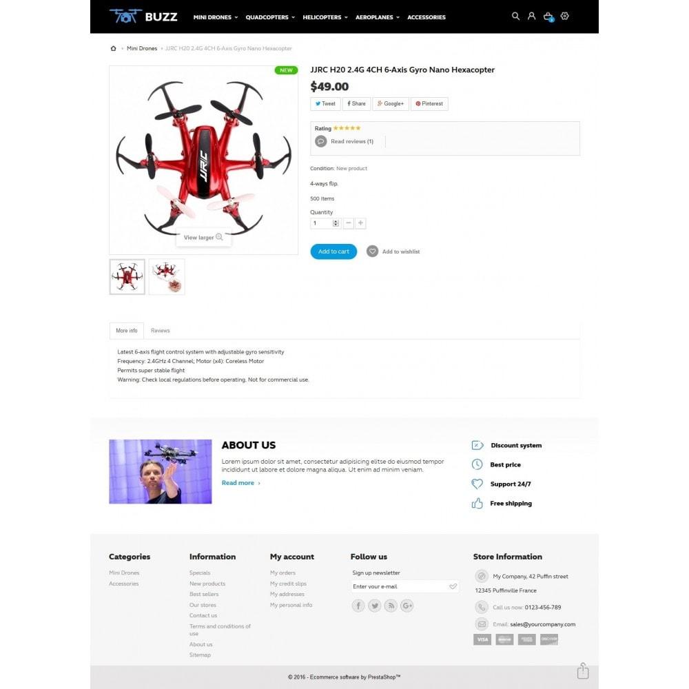theme - Sport, Activiteiten & Reizen - Buzz Quadrocopters Store - 7