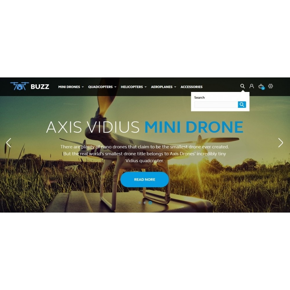 theme - Sport, Activiteiten & Reizen - Buzz Quadrocopters Store - 10