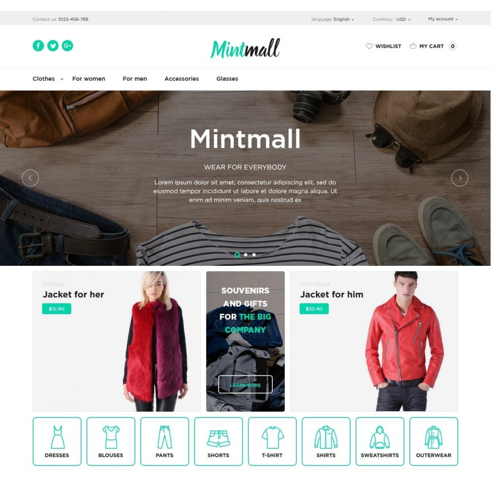 theme - Fashion & Shoes - Mintmall Fashion - 2