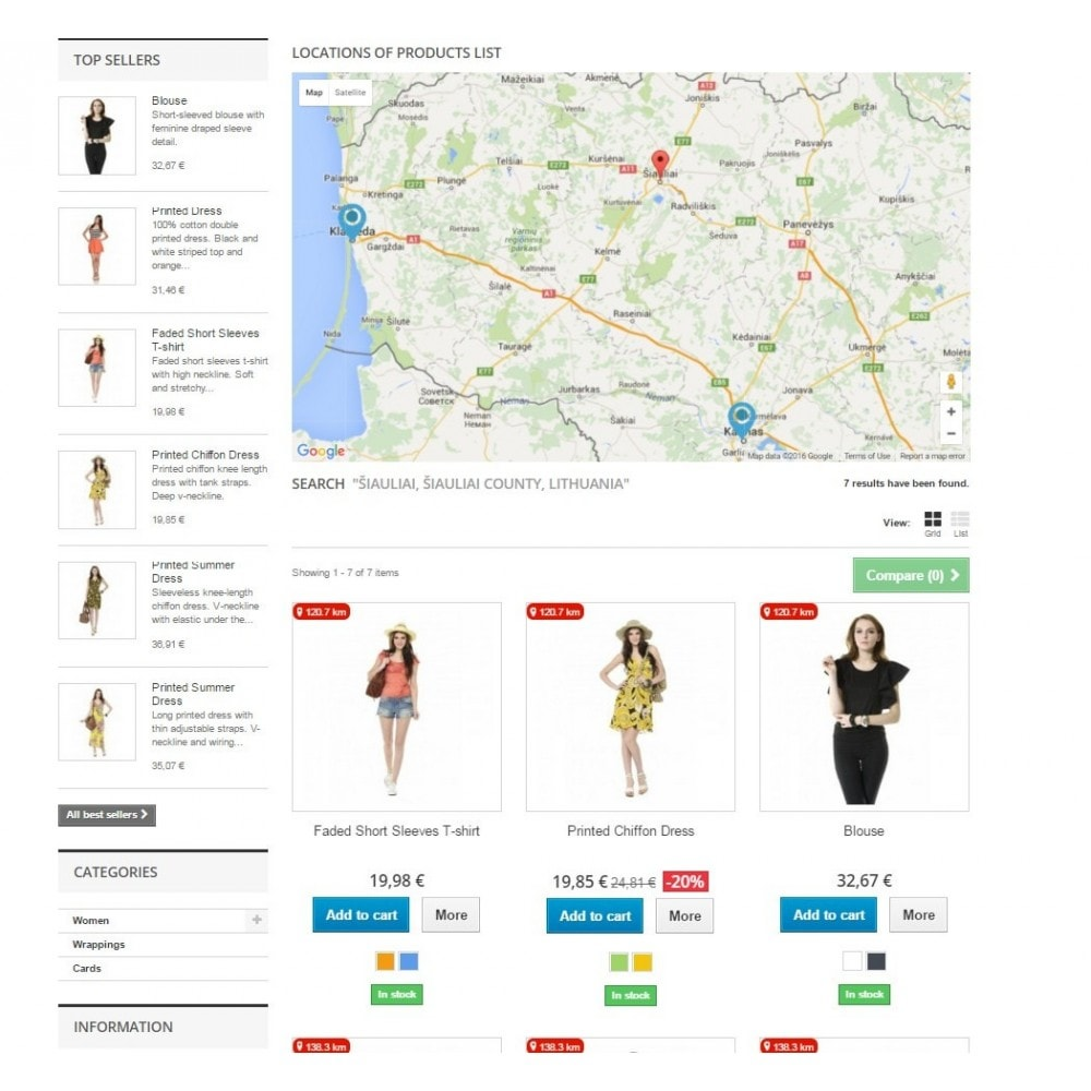 module - Internationaal & Lokalisatie - Search Products by Location and Google Maps Pro - 4