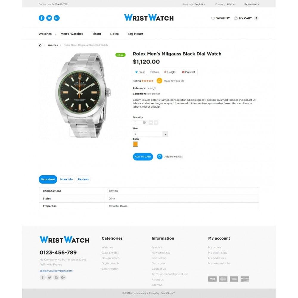 theme - Bijoux & Accessoires - Wrist Watch - 7
