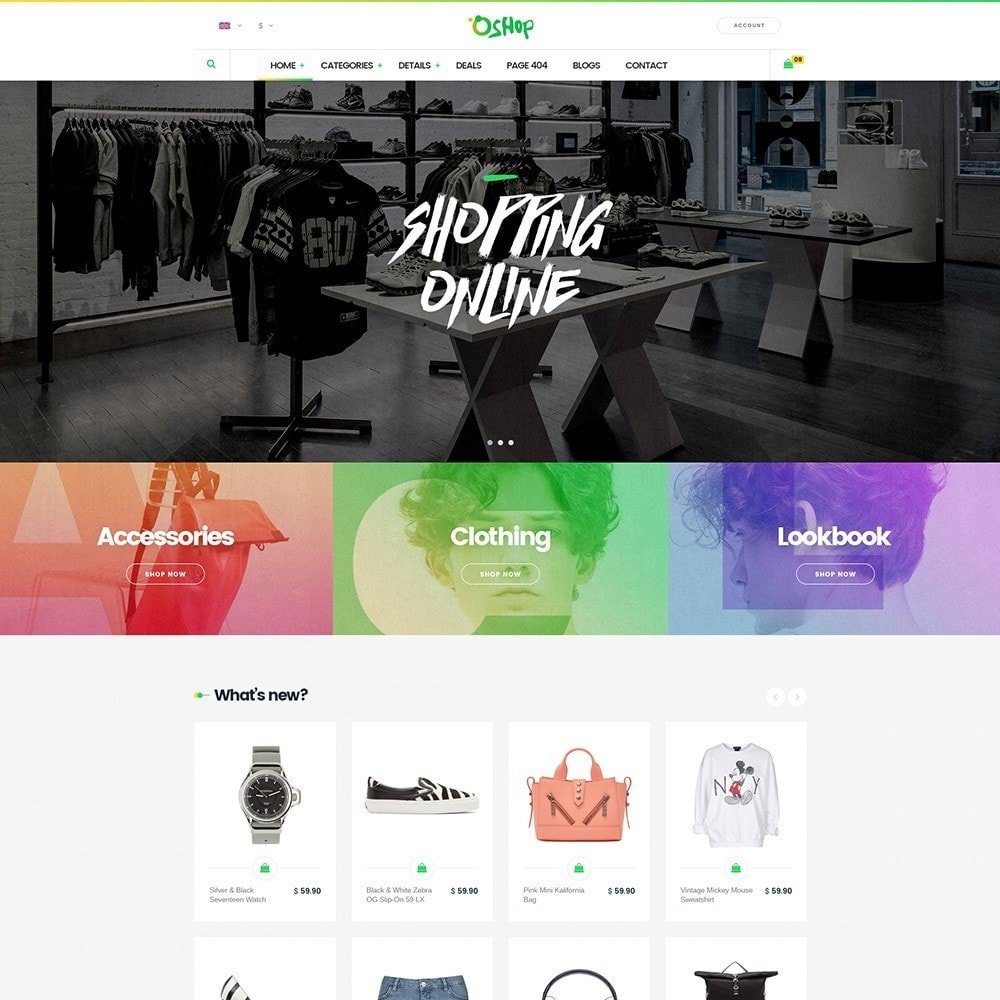 theme - Mode & Chaussures - Oshop - 1