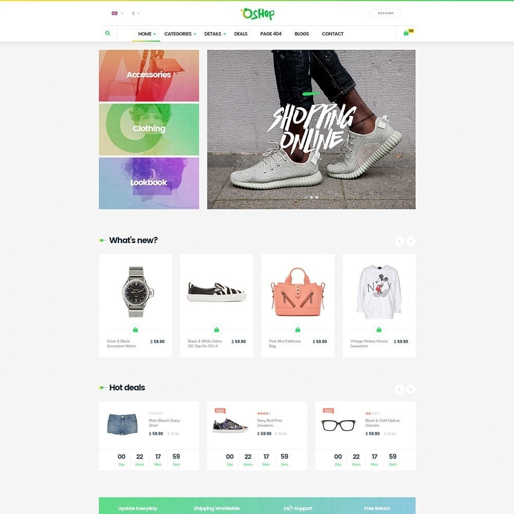 theme - Mode & Chaussures - Oshop - 3