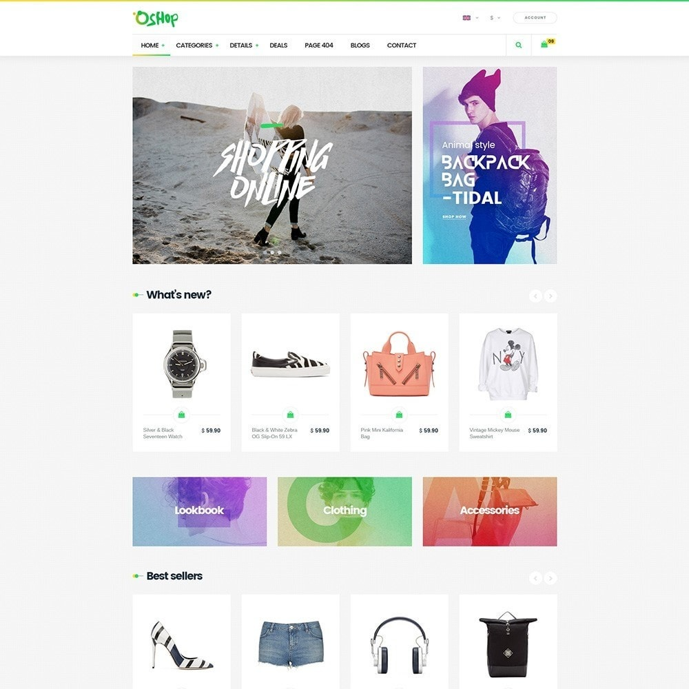 theme - Mode & Chaussures - Oshop - 4