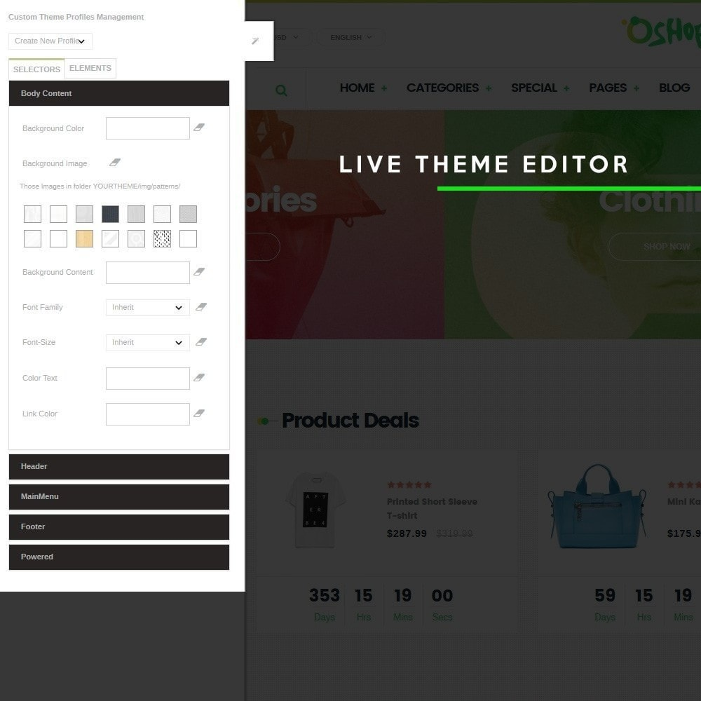 theme - Mode & Chaussures - Oshop - 7