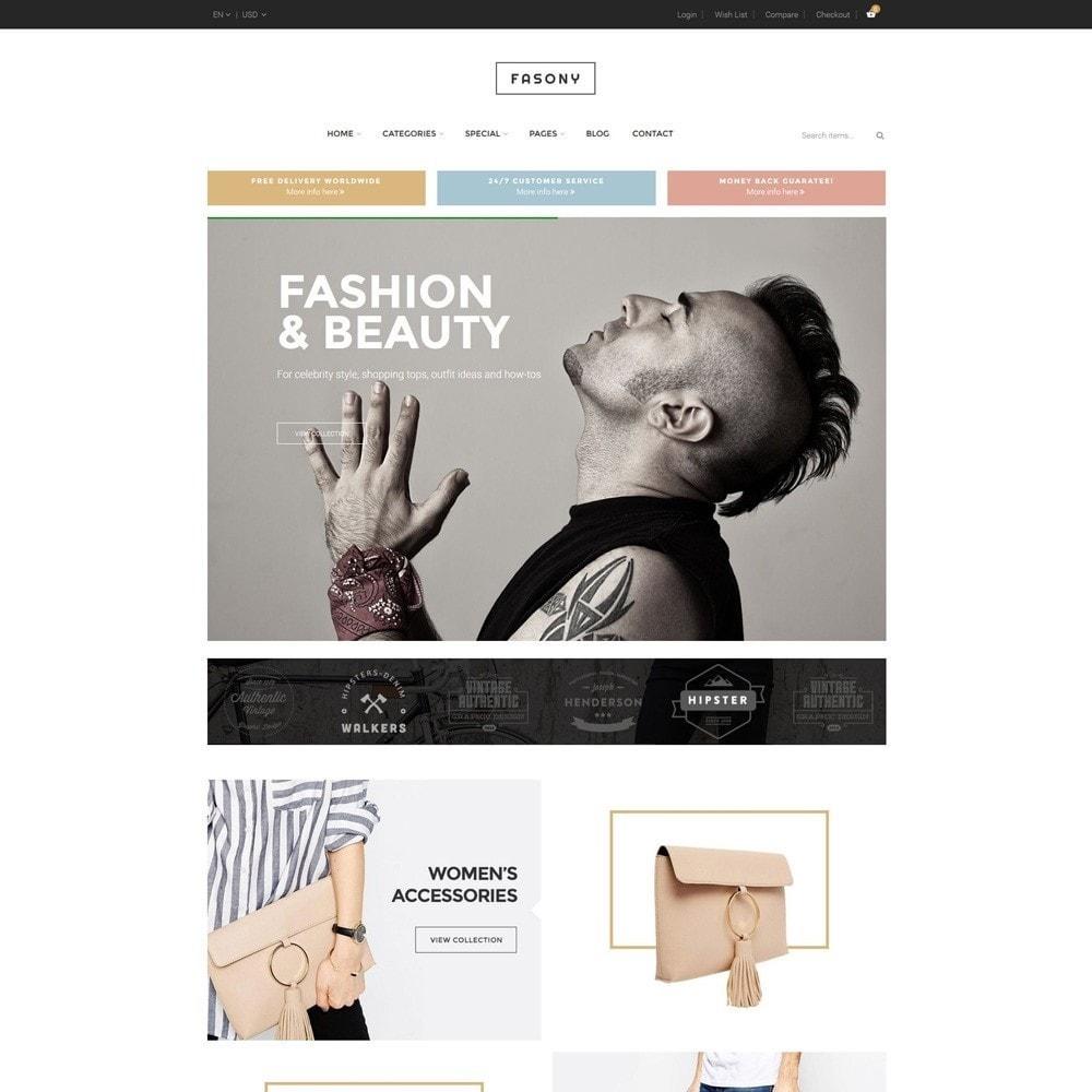 theme - Fashion & Shoes - Fasony - 3