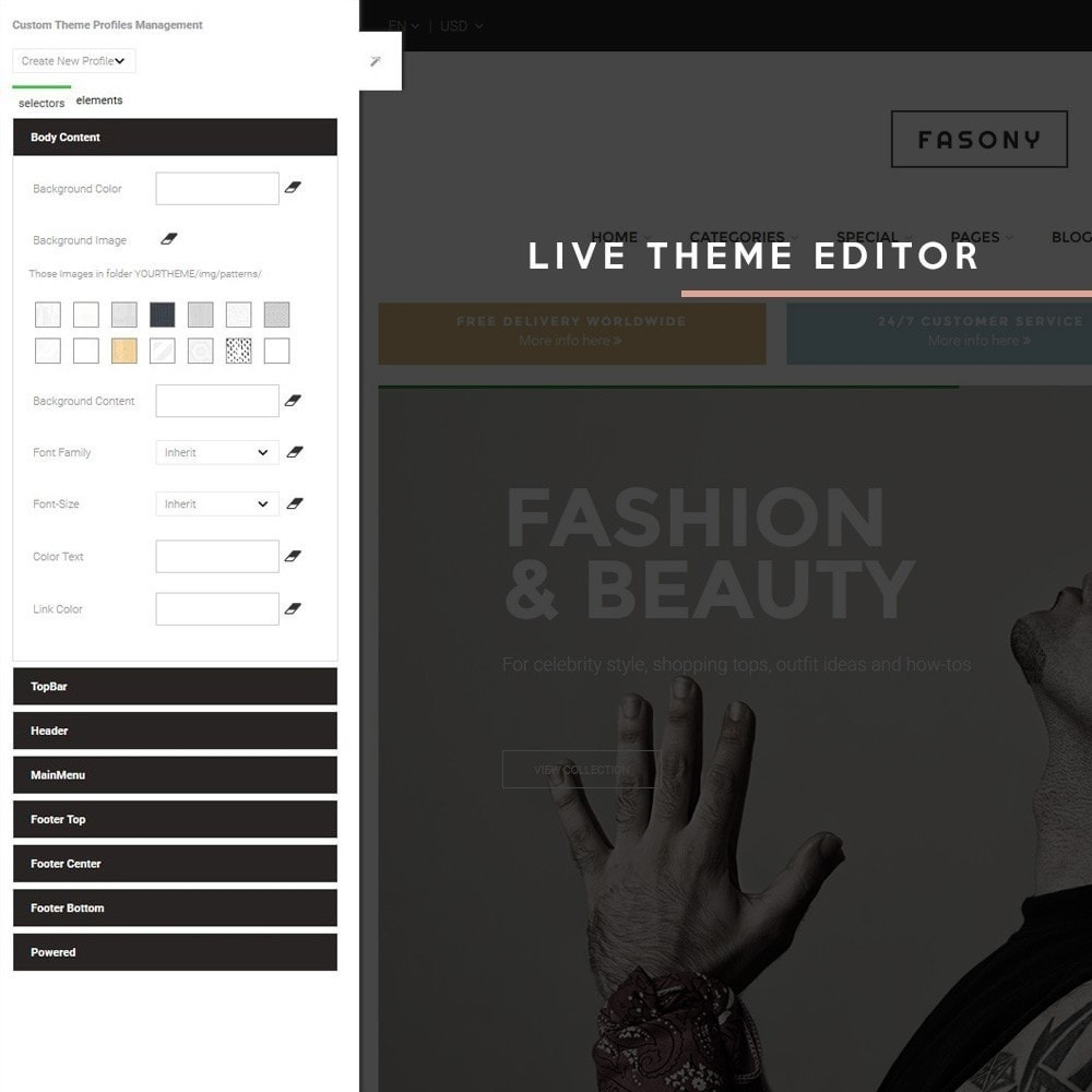 theme - Fashion & Shoes - Fasony - 6