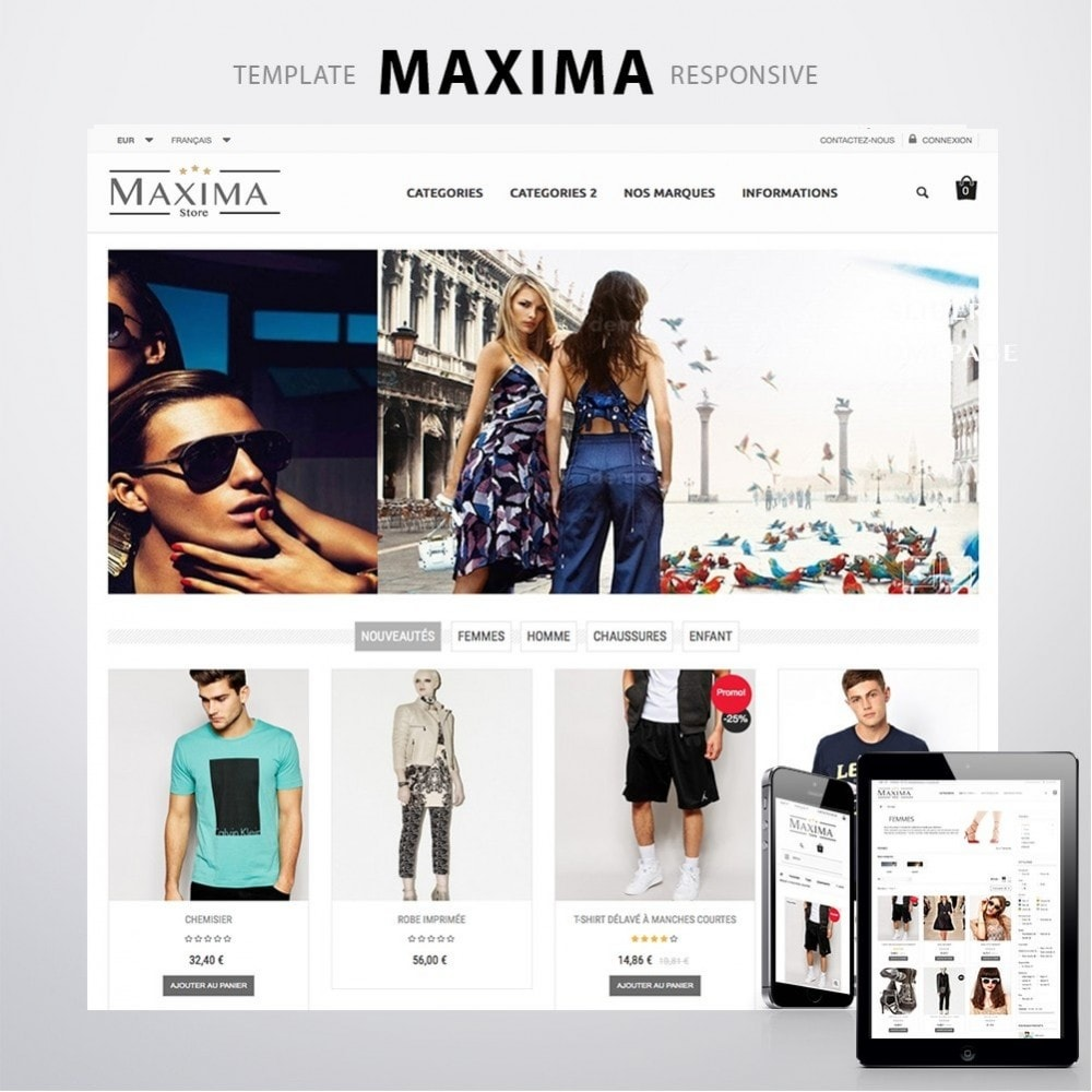 theme - Mode & Chaussures - MAXIMA - 1