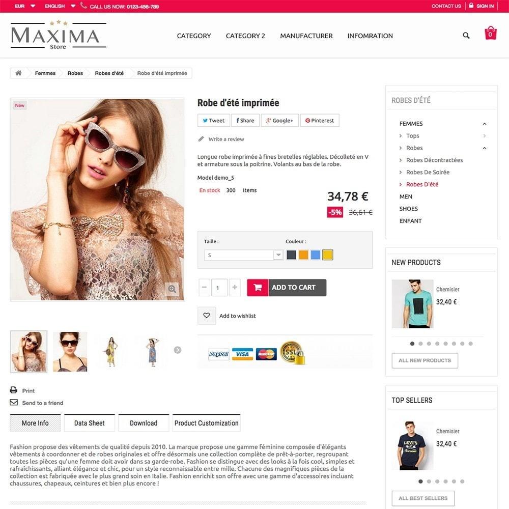 theme - Fashion & Shoes - MAXIMA - 2