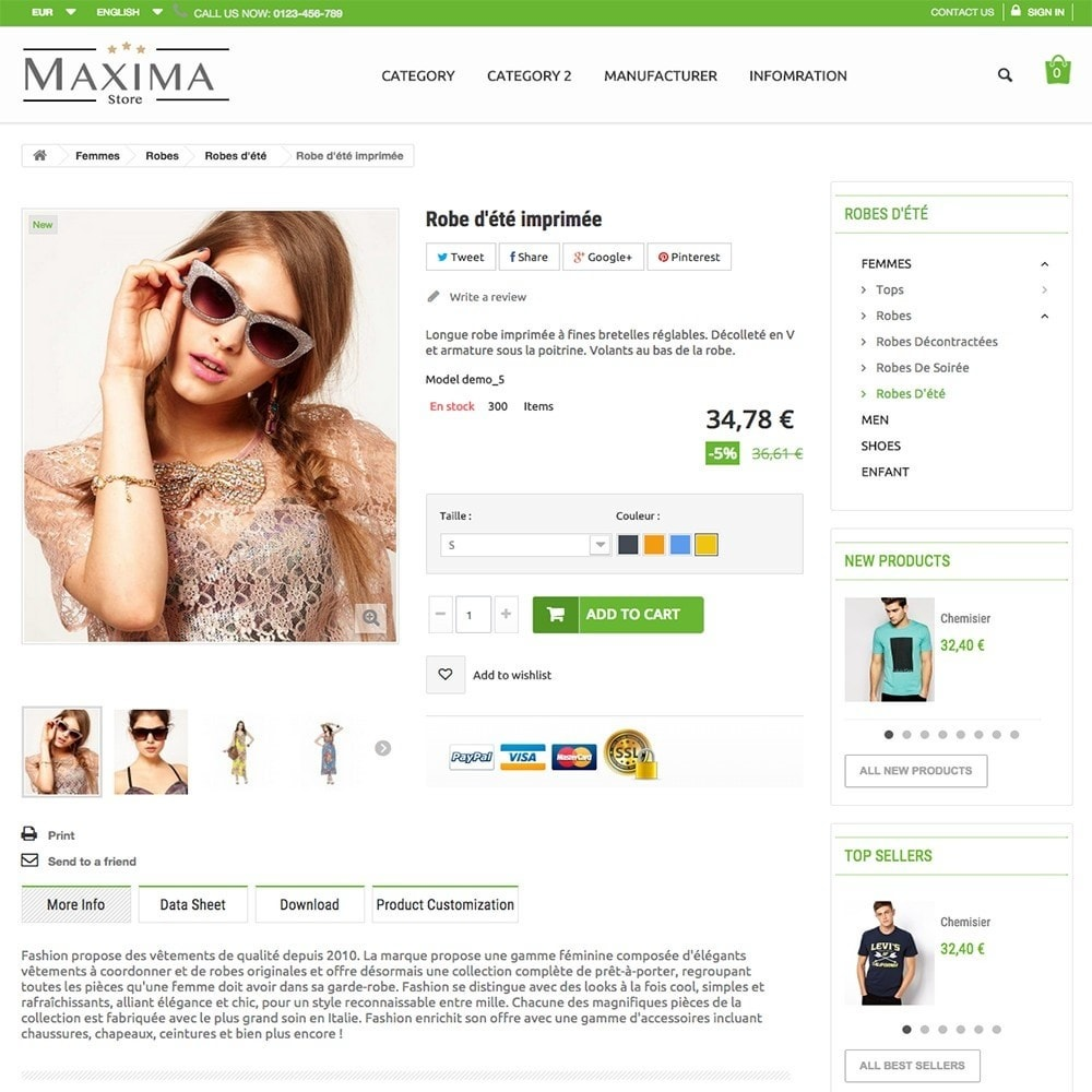 theme - Fashion & Shoes - MAXIMA - 3