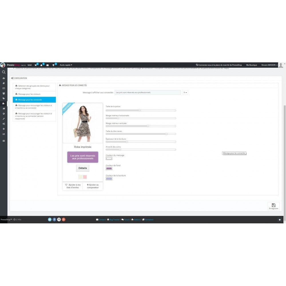 module - Zarządzanie cenami - Hide prices easily - 4