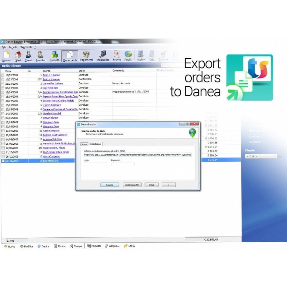 module - Соединение с внешней программой (CRM, ERP...) - Export orders to Danea EasyFatt - 3