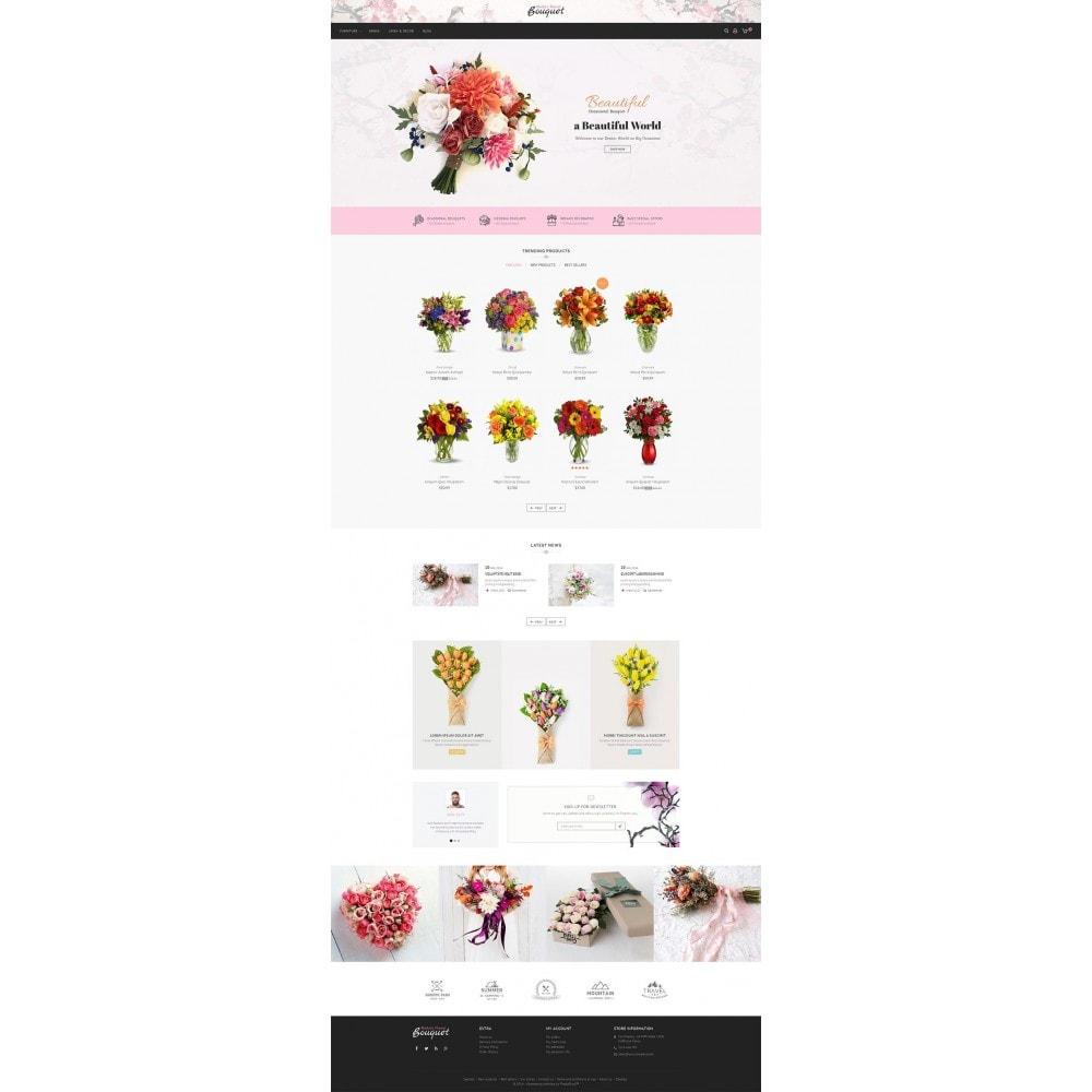 theme - Подарки, Цветы и праздничные товары - Flower Store - 2