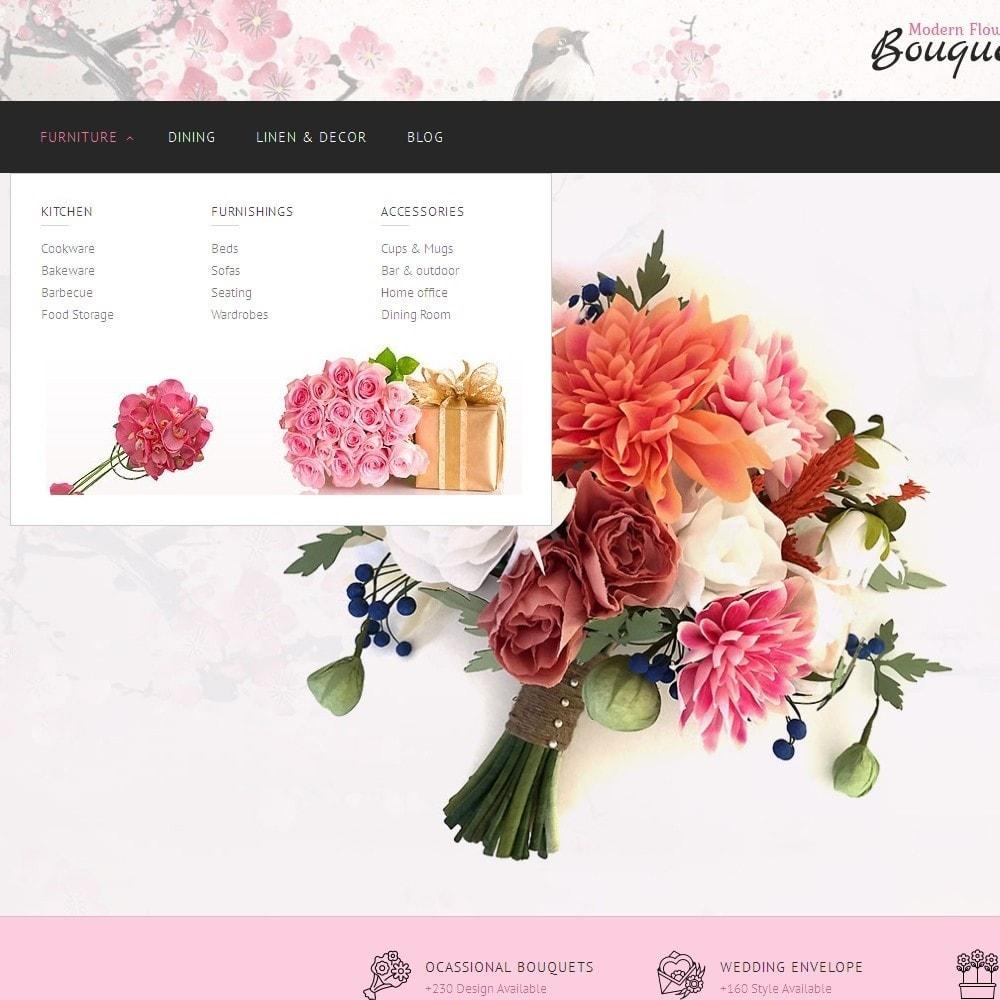 theme - Подарки, Цветы и праздничные товары - Flower Store - 6