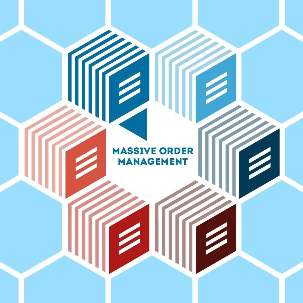 module - Orderbeheer - Massive Orders management - 1