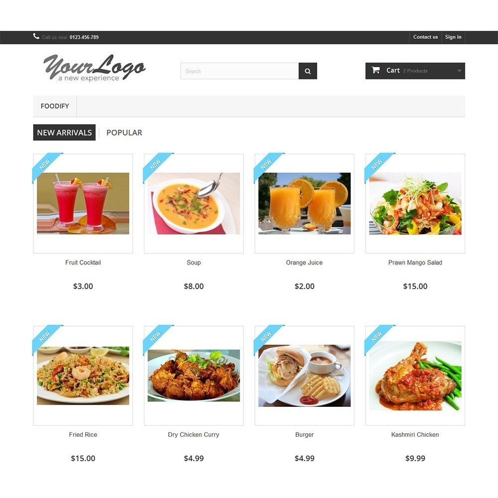 module - Alimentos & Restaurantes - Foodify Restaurant Food Menu - 10