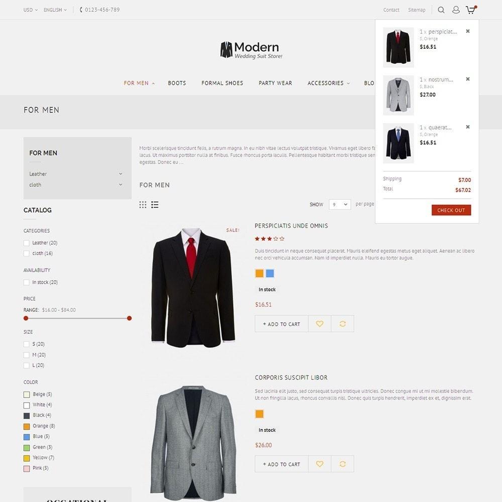 theme - Moda & Calçados - Suit Store - 8