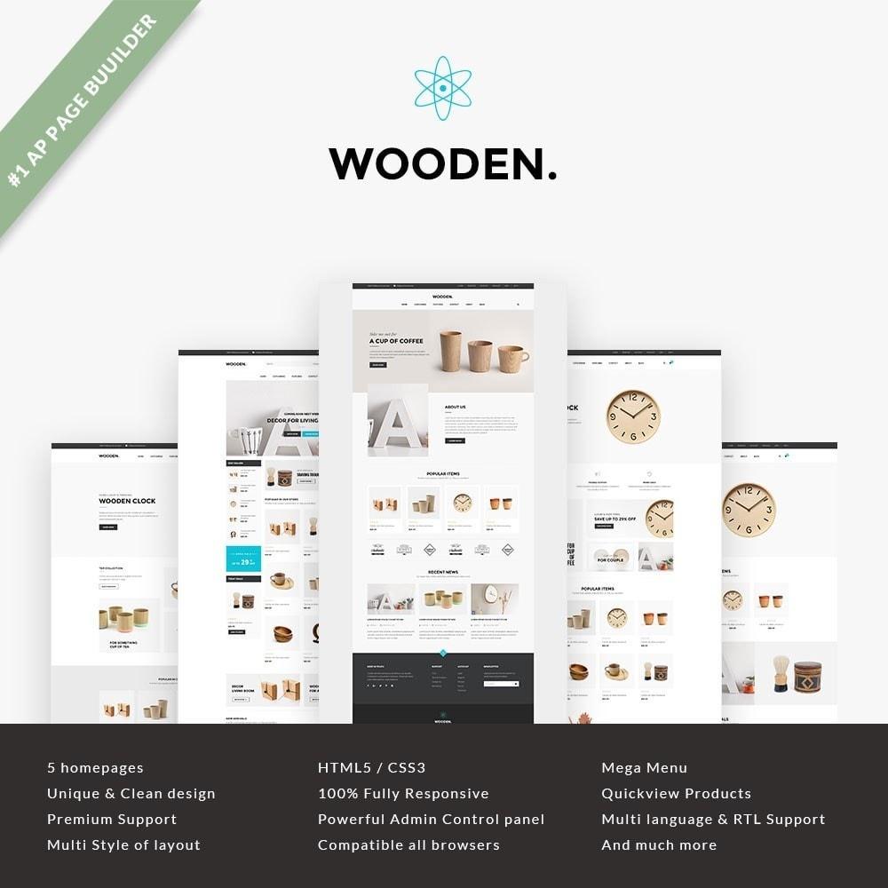 theme - Hogar y Jardín - Leo Wooden - 1