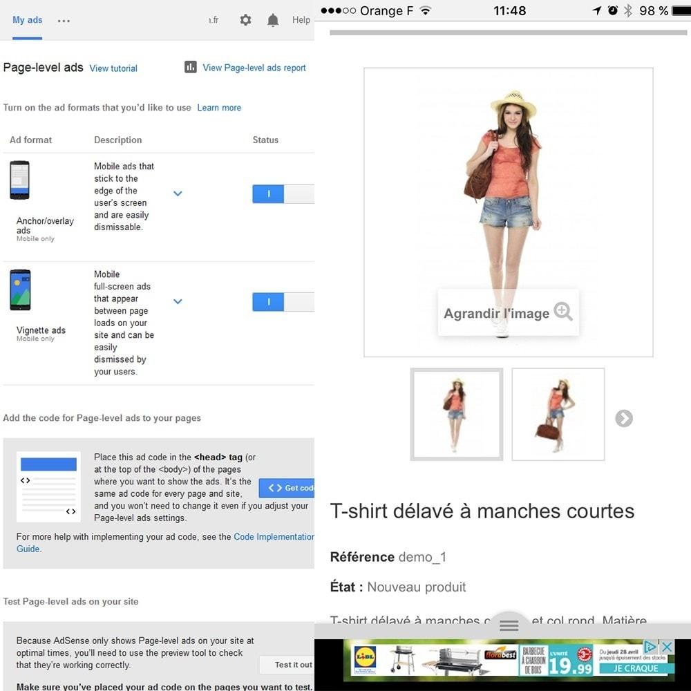 module - Płatne pozycjonowanie & Afiliacja - Google Adsense Ads - 5