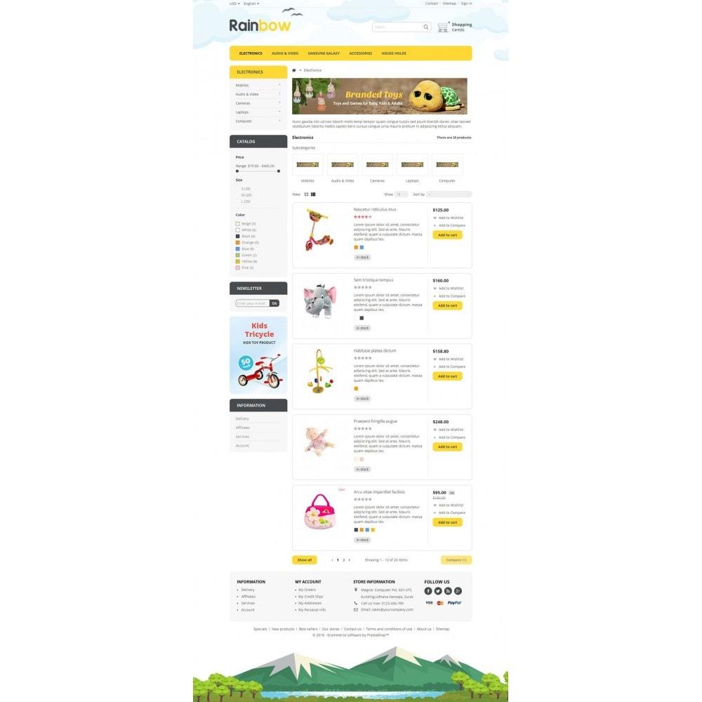 theme - Bambini & Giocattoli - Rainbow Store - 4