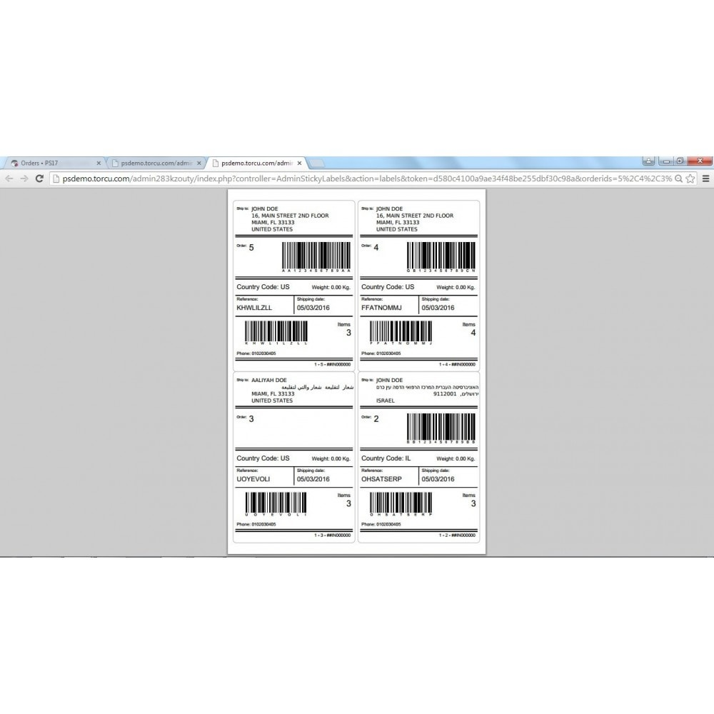 module - Voorbereiding & Verzending - Sticky Labels - Professional Shipping Labels - 11