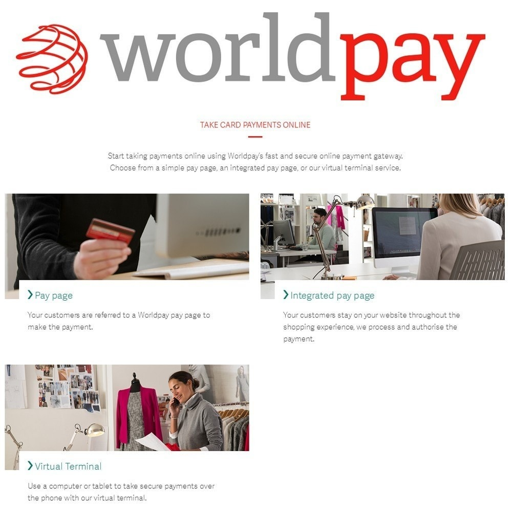 module - Creditcardbetaling of Walletbetaling - Worldpay US Payments - 2