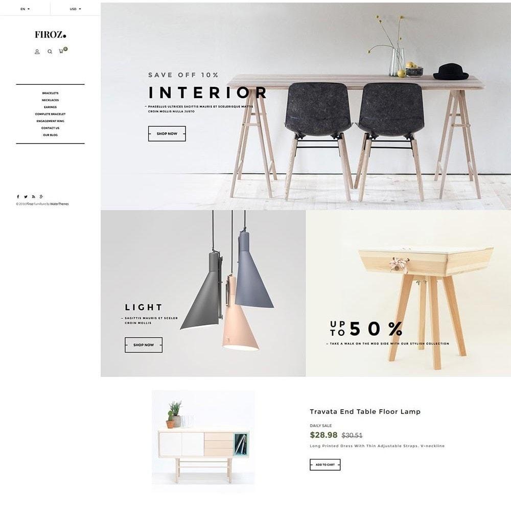 theme - Casa & Jardins - Firoz Furniture - 2