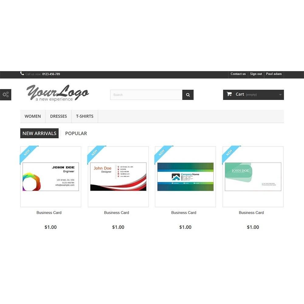 module - Déclinaisons & Personnalisation de produits - Business Card Design - 17