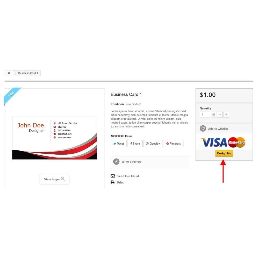 module - Combinazioni & Personalizzazione Prodotti - Business Card Design - 18