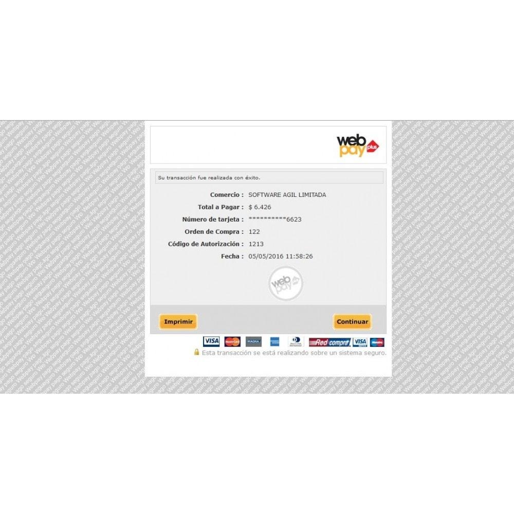 module - Pagamento por cartão ou por carteira - Webpay Webservice for Transbank  v. 2.0.0 - 7