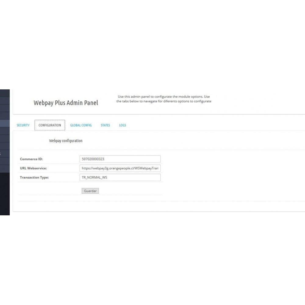 module - Pagamento por cartão ou por carteira - Webpay Webservice for Transbank  v. 2.0.0 - 9