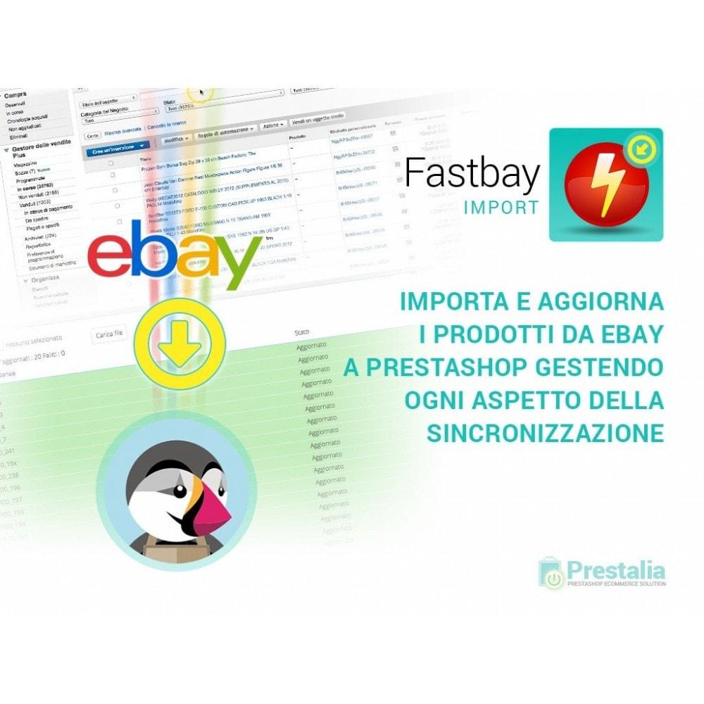 module - Data Import & Export - Import eBay - crea prodotti da inserzioni eBay - 1