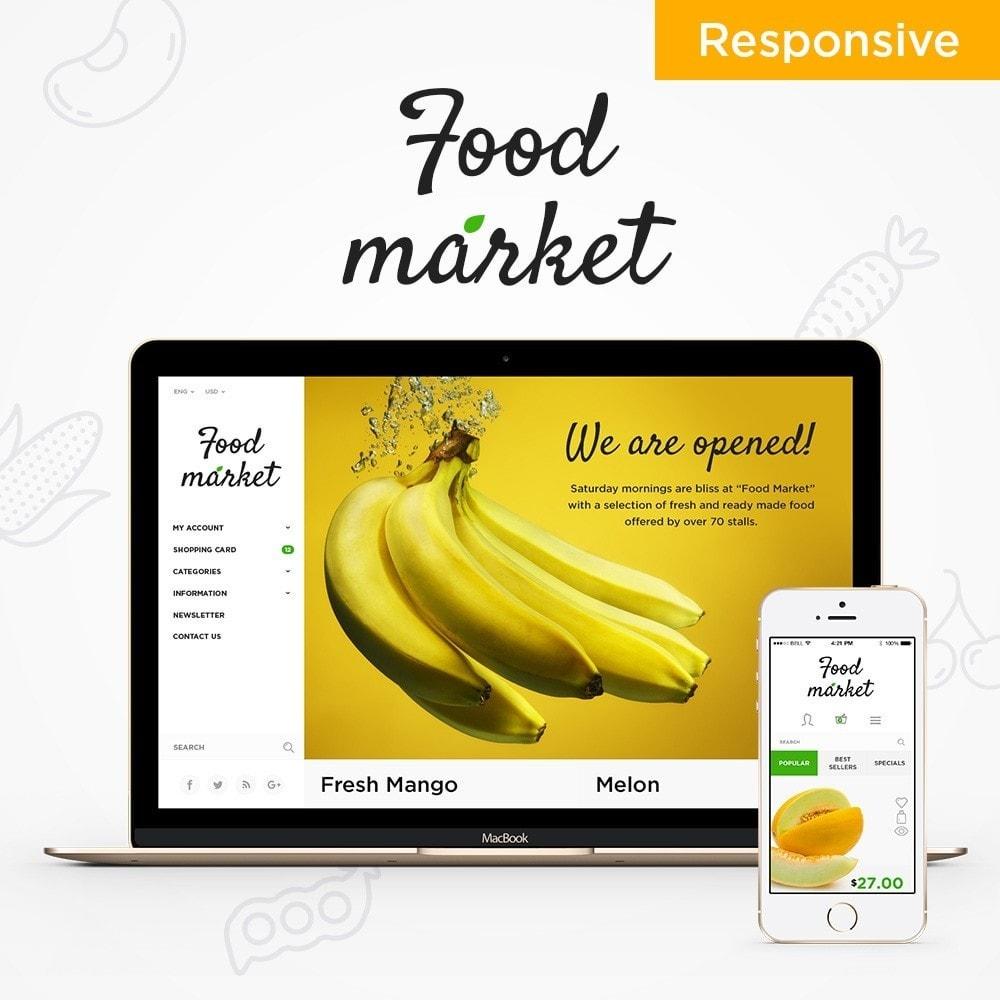 theme - Cibo & Ristorazione - Food Market - 1