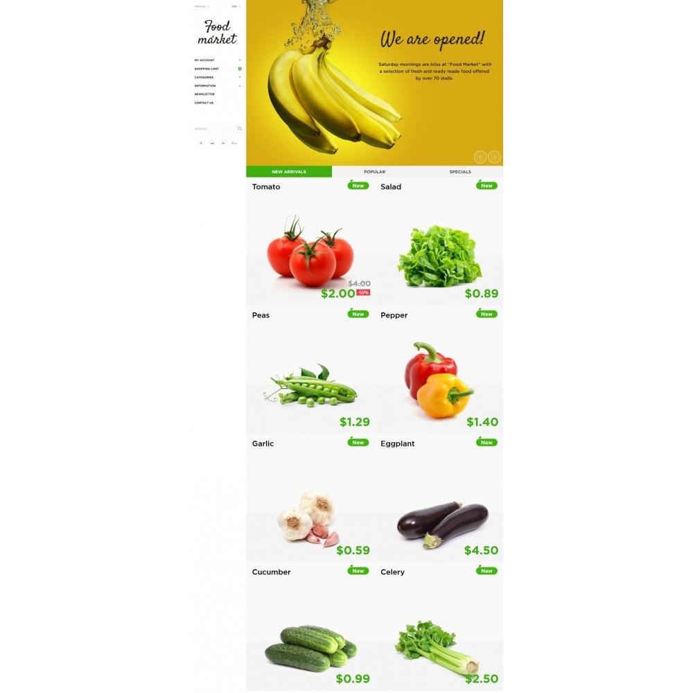 theme - Cibo & Ristorazione - Food Market - 3
