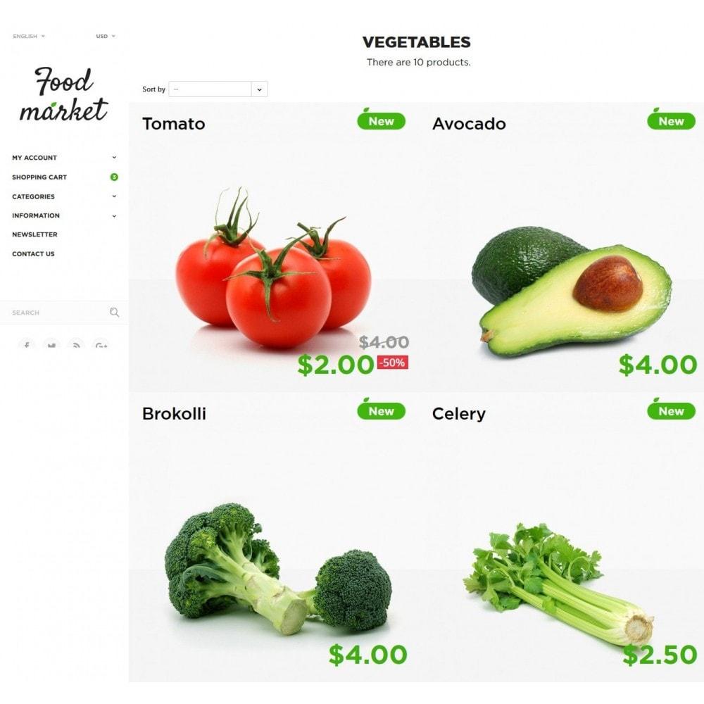 theme - Cibo & Ristorazione - Food Market - 5